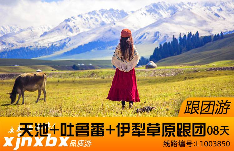 【跟团游】伊犁草原 、天山天池、吐鲁番跟团8日游(2021年修订版)